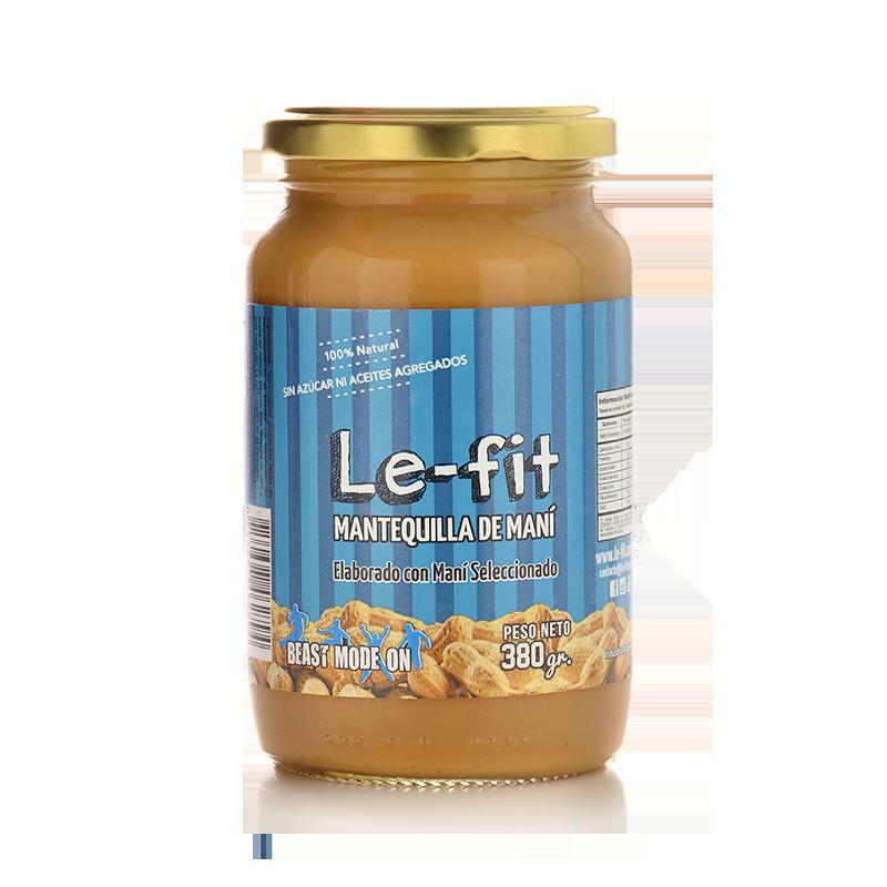 Mantequilla de Mani Le-Fit Natural