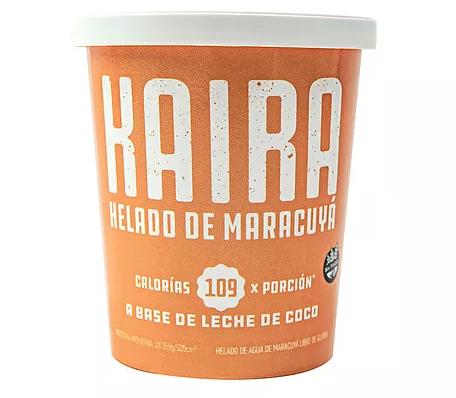Helado Maracuyá Bajo en Azúcar