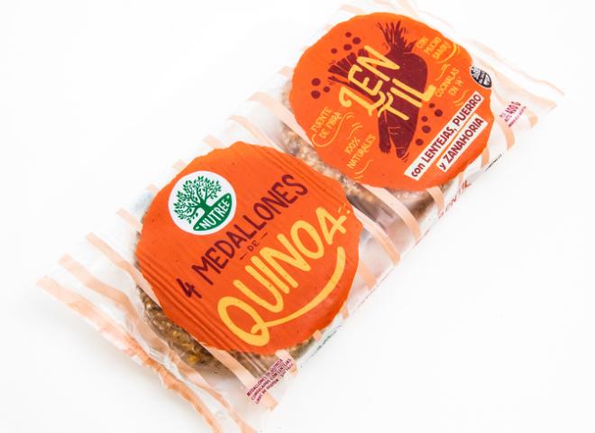Hamburguesa de Quinoa y Lentejas por 400 gr
