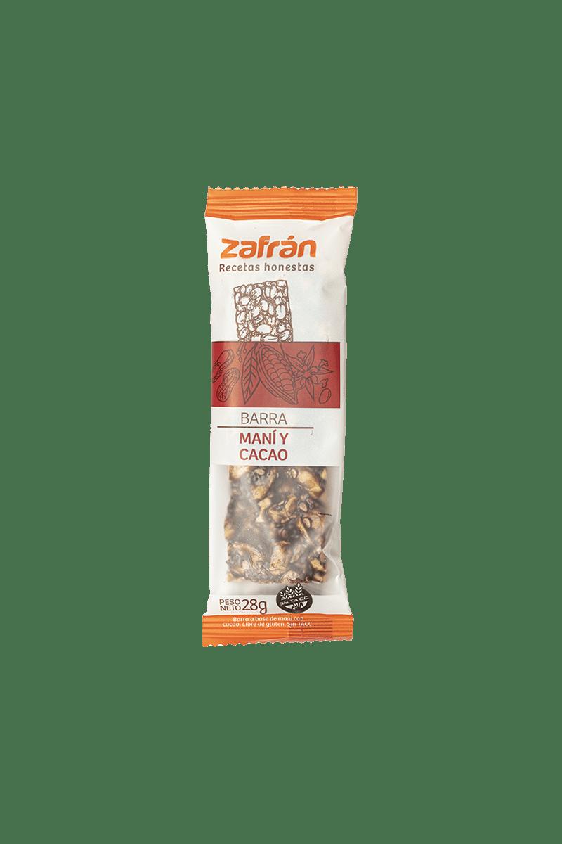 Barrita Zafrán Mani y Cacao