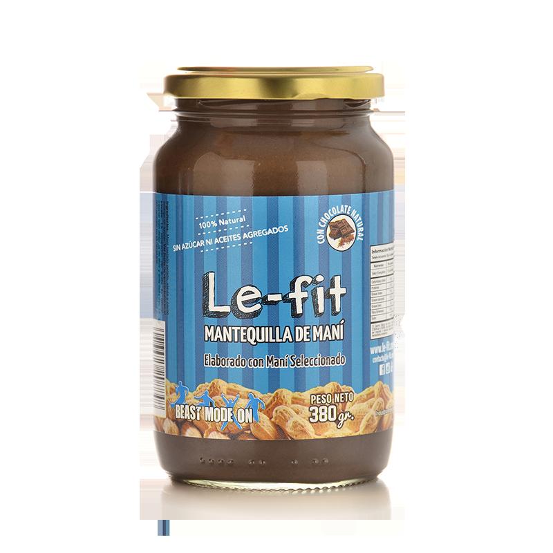 Mantequilla de Mani Le-Fit Cacao