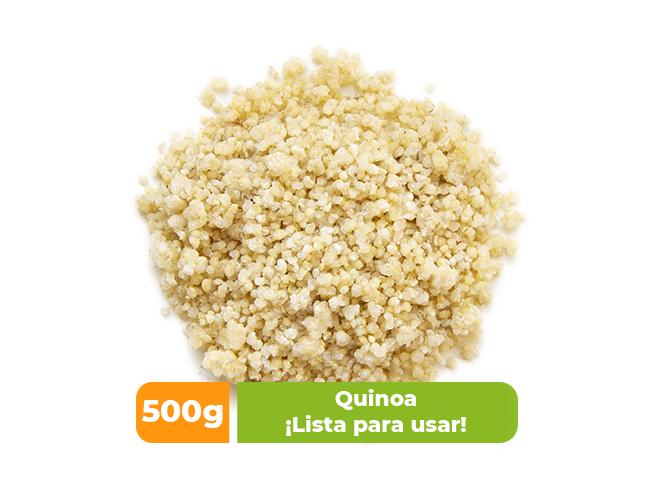 Quinoa orgánica IQF por 500 gr
