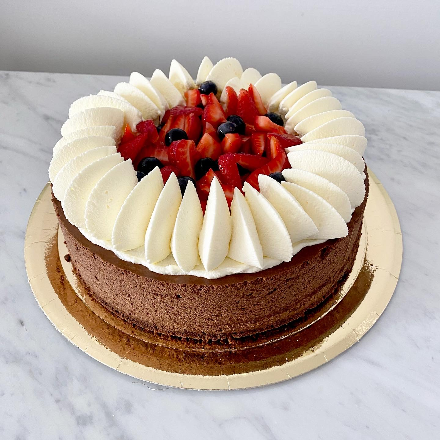 Marquise de chocolate intenso